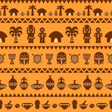 African Tribal Pattern Ethnic ornament Stock Images