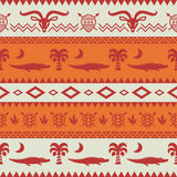 African Tribal Pattern Ethnic ornament Stock Photography