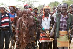 African tribal people Royalty Free Stock Photography