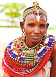 African tribal woman Royalty Free Stock Image