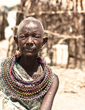 African tribal woman Royalty Free Stock Photo