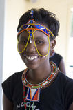 African tribal Woman Stock Photo
