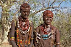 African tribal women Royalty Free Stock Photography