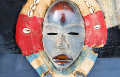 African ttibsl mask. Traitional african tribal mask Stock Images