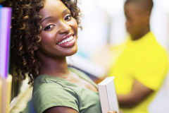 African uni student Royalty Free Stock Images