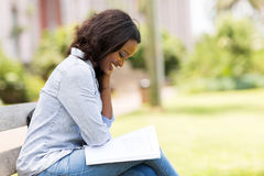 African uni student Stock Images