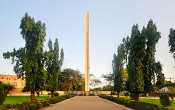 African Unity Monument - Accra, Ghana. African Unity Monument in Accra, Ghana. It was built as a symbol of the nations hopes for African Unity and Pan-Africanism Stock Photos