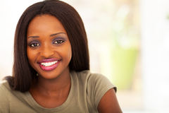 African univeristy girl Royalty Free Stock Photos