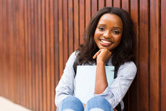 African univeristy student Stock Images