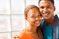 African university couple Stock Photo