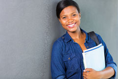 African university girl Stock Photo