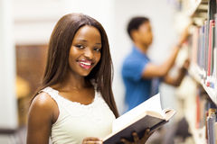 African university library Stock Image