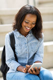 African university student Royalty Free Stock Image