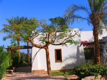 African villa Royalty Free Stock Photos