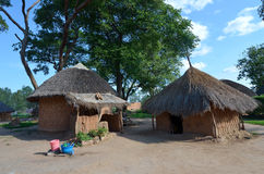 African village Stock Image
