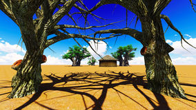 African village Stock Images