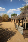 African Village Royalty Free Stock Image