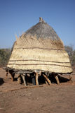 African village huts Royalty Free Stock Photos