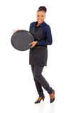 African waitress apron Royalty Free Stock Image