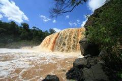 African Waterfall Stock Image