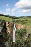 African Waterfall. Waterfall near Blyde River Canyon in South Africa Stock Photos