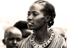 African Woman Royalty Free Stock Photos