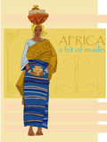 African woman Royalty Free Stock Image