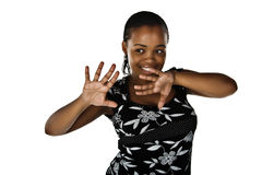 African woman Stock Images