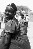 African woman with baby Stock Photos
