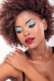 African woman beauty Stock Images
