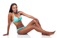 African woman bikini Stock Photography