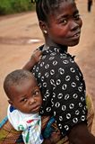 African Woman and Child Stock Photos