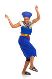 African woman dancing Stock Photography