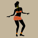 African woman stock illustration