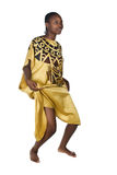 African woman in dress Royalty Free Stock Photos