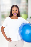 African woman fitness Stock Photo
