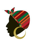 African woman head Royalty Free Stock Photo