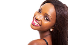 African woman headshot Stock Photos