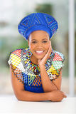 African woman home Royalty Free Stock Photos