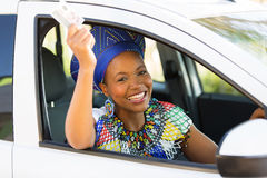 African woman license Royalty Free Stock Photography