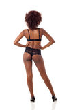 African woman lingerie Stock Photography