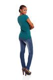 African woman looking back Stock Photography