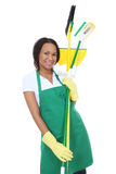 African Woman Maid stock images