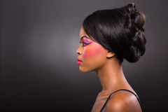 African woman make-up Stock Photo