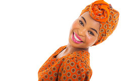 African woman posing Stock Photography