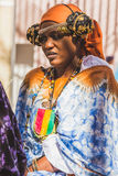 African woman posing at Expo 2015 in Milan, Italy Stock Photos