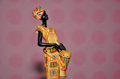 African woman statue Royalty Free Stock Image