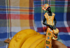 African woman statue Royalty Free Stock Photo