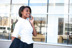 African Woman Student at School Stock Photos