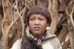 African wife Stock Image
